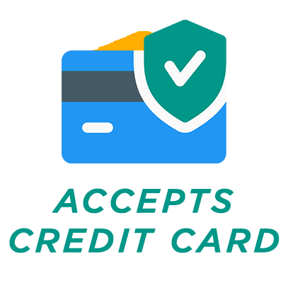 accepts cards