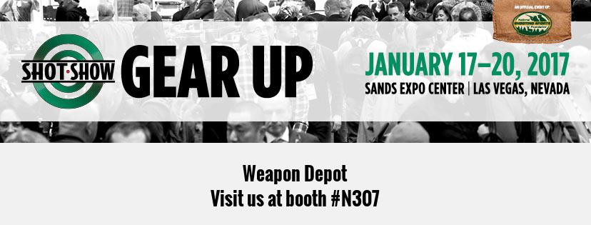 weapon depot at shot show