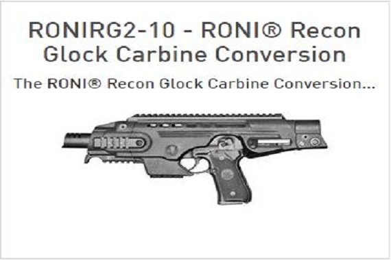 RONI Recon G2-10 for Glock 20, 21 (10mm, 45 cal) for Sale - SBR_Authority