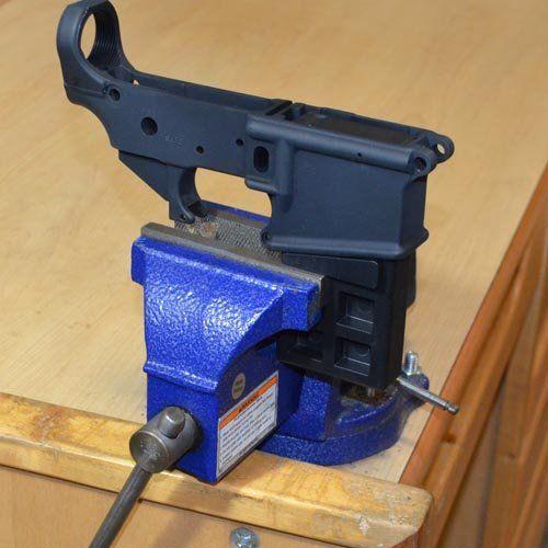223 5.56 Gun Smithing Tool Vise Block for Clamping AR15 Rifle Lower Receiver