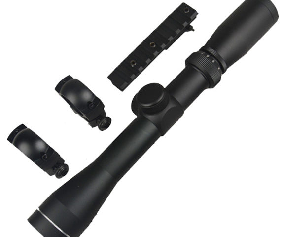 2-7x32 Long Eye Relief Scope and M44 Scope Mount COMBO