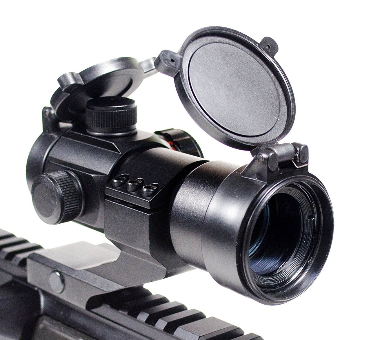 Ade Advanced Opticsc RD1-005 Red Green Dot Sight Scope Tactical Reflex w/ 20mm Weaver Rail 4 MOA