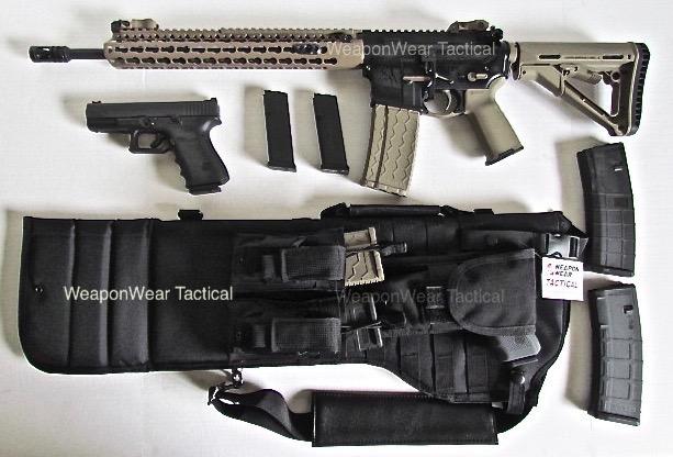 W2, ar 15,AR 15,scabbard,case,gun, guncase, tactical,rifle case,sling,weapowearconcealmen.com