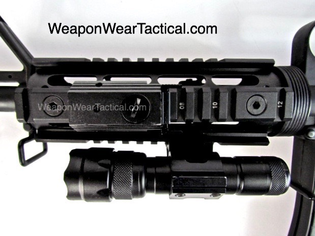 3,NCStar universal barrel mount.gun,rifle,conceal,concealment,concealled carry,tactical,flashlight,www.weaponweartactical.com