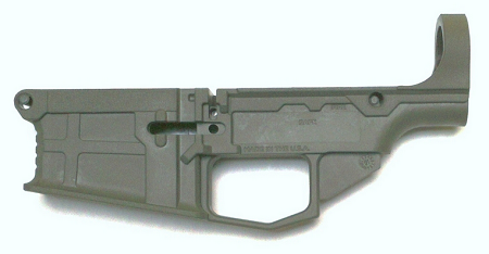 80 polymer lower receiver with free machining jig