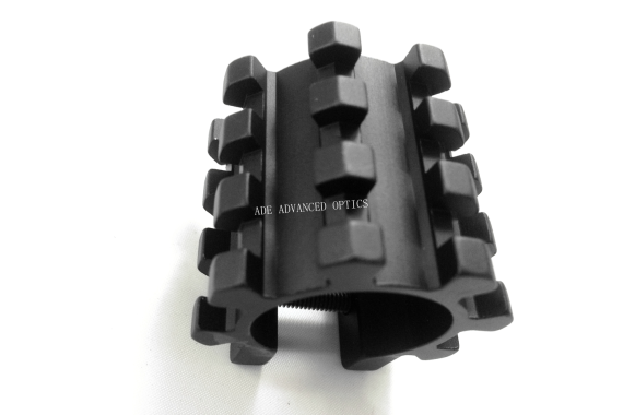 8-Rail Barrel Mount System Fits Any 12 Gauge Shotgun, quad, tri-rail