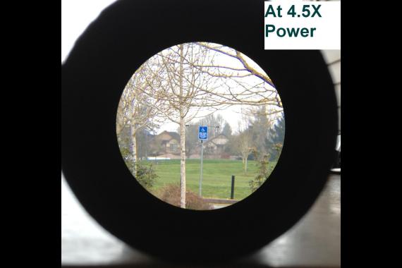 Ade Advanced Optics 4.5-14×44 First Focal Plane FFP Rifle Scope MOA Reticle 30mm