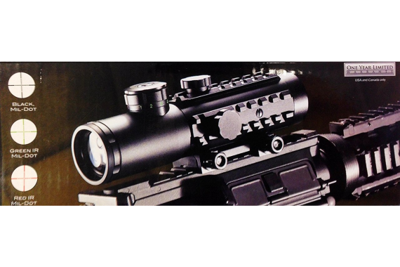 Ade Advanced Optics BE4X30ME Premium Illuminated Infrared Electro Sight Riflescope, 4×30 Rifle Scope