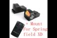 Ade Advanced Optics Compact MINI Red Dot Reflex Sight Pistol for Springfield XD