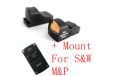 Ade Optics MINI Red Dot Reflex Sight Pistol for SW MP Smith Wesson S&M M&P SD40VE SD9VE