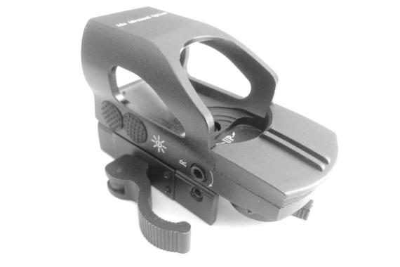 Ade Optics Tactical Digital Tactical 4 Reticle Holo Reflex Sight Red Green Dot