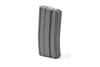 Ar-15 .223-5.56 Aluminum 20 Round Magazine - Grey Moly, Grey Follower