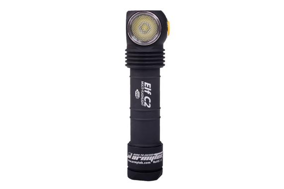 Armytek Elf C2 XP-L Micro-USB (White) + 18650 Li-Ion/LED flashlight