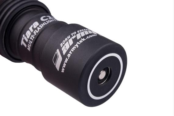 Armytek Tiara C1 Pro XP-L Magnet USB (Warm) + 18350 Li-Ion/LED flashlight
