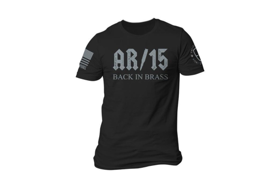 Back In Brass T-shirt - Black - 3x-large