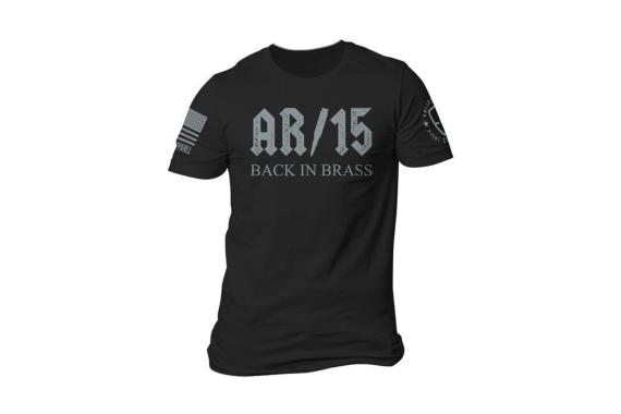 Back In Brass T-shirt - Black - Large
