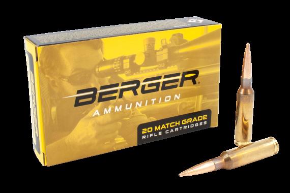 Berger Bullets Target, Berg 31010   6.5crd  140gr Hybrid Hunter 20-10
