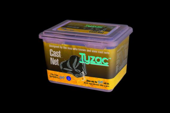 Betts Tyzac 5 Foot Nylon Cast Net 3 8 inch Mesh