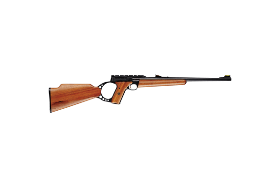Bg Buck Mark Sporter Rifle - .22lr W-sights Blued Walnut