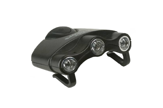 CYCLOPS ORION HAT LIGHT 3 WHITE LED LIGHTS