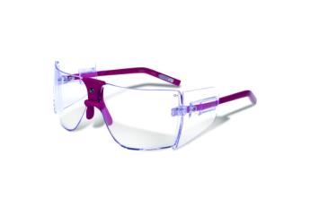 Classic Sunglasses - Fuscia-clear