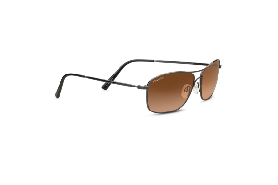 Corleone Sunglasses - Shiny Gunmetal - Drivers Gradient Ultra-light Mineral Lens
