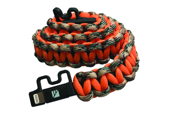 Dark Energy Survival Paracord Lightning Charging Cable-Realtree Camo