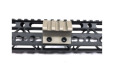 FDE! 45 Deg Offset Picatinny Rail Section for Keymod Handguard Flat Dark Earth