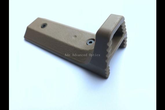 FDE HandStop/ Barricade Rest Tactical Super Slim Keymod Hand Stop rail cover Flat Dark Earth for handguard rail