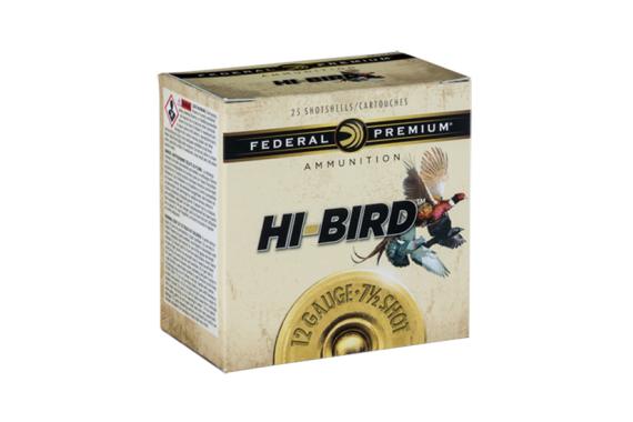 FED HIGH BIRD 12GA 2.75 1.25OZ #6 25-10