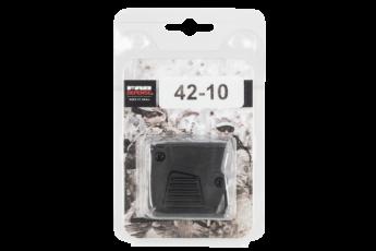 Fab Defense (usiq) Glock 42 Compatible, Fab Fx-4210b   Glk42 4rd Mag Extension Bk