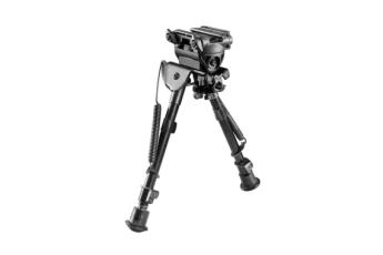 Harris Bipod Tilting & Rotating Picatinny Adapter - Black