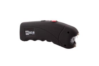 High Voltage Stun Gun With Bright Led - Black