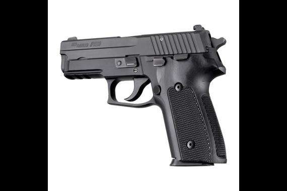 Hogue Sig Sauer P228 P229 DA SA Checkered G10 Black
