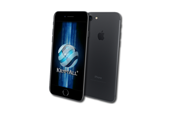 KryptAll Secure Encrypted iPhone 7 (128GB) NO CALL RECORD