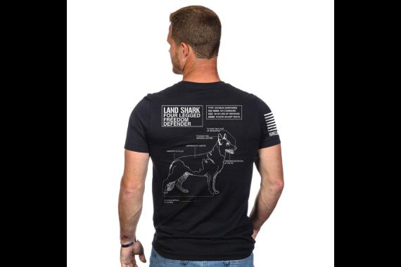 Landshark T-shirt - Black - Small