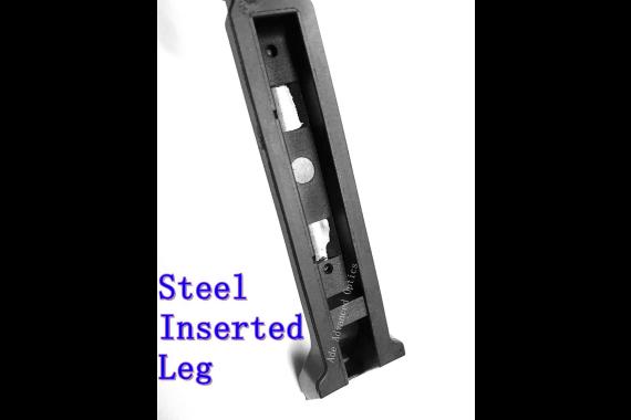 ForeGrip 3in1 Grip +S teel Inserted Leg Bipod + Side Picatinny Rail