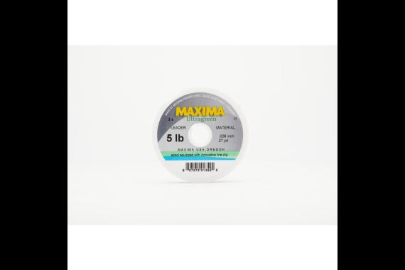 Maxima Ultragreen Leader Wheel  5lb 27yds