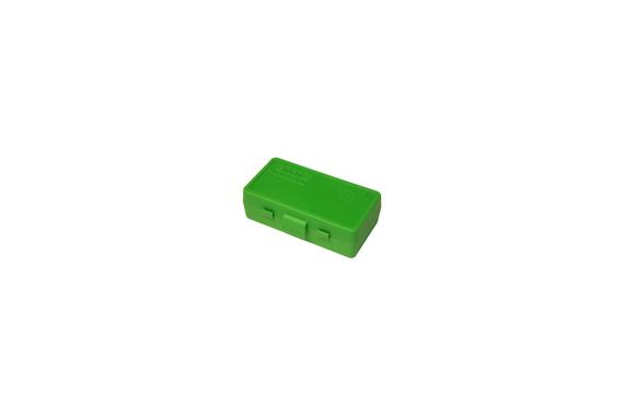 MTM PISTOL FLIPTOP 5ORD BOX GRN  9MM-380