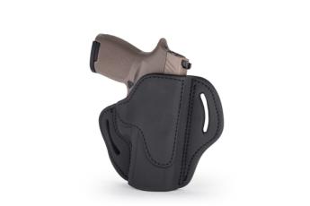 Open Top Multi-fit Belt Holster - Stealth Black - Left Hand - Fn 509, Sig P229-p228