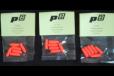 P-Squared (P2) brand .25 ACP centerfire Snap Caps.