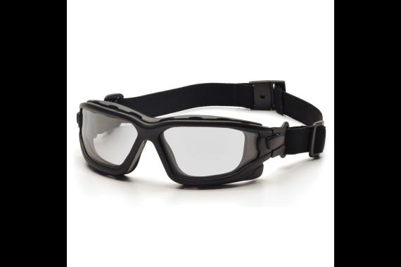 Pyramex I-Force Black Frame Clear AF Lens Sealed Eyewear