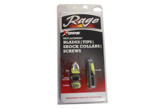 Rage Extreme Replacement Blades 2.3in. Cut 6pk