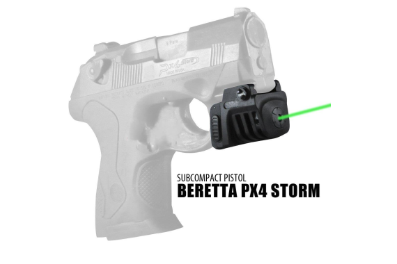 Rechargeable mini GREEN Sight for Subcompact Pistols & Compact Handguns – Fits Springfield XD XD-S XDM S&W M&P Beretta PX-4 Taurus Millenium Walther PPQ PPS PPX PK380 Ruger SR9C