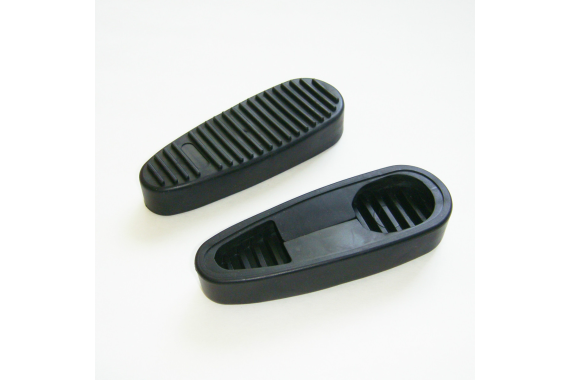 Ribbed Stealth Slip On Rubber Combat Buttpad Butt Pad For 6 Position Rifle Collapsible Stock AR-15 AR15 M4