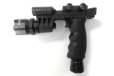 Rifle Vertical Foregrip Grip + 500 Lumen Flashlight and Green Laser Combo Sight
