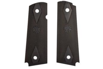 Rubber Grip Panels - Colt Government Model - Black