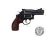 Smith and Wesson 586 357mag L-comp Bl-wd 3 7rd