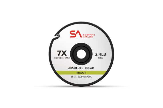 Scientific Anglers Absolute Trout Tippet 30M 2X Clear