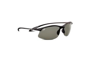 Serengeti Sport Maestrale Sunglasses, Satin Black, Polarized